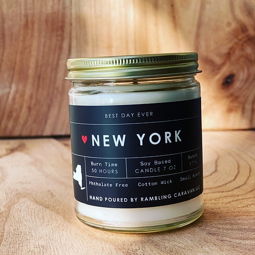 New York State Candle