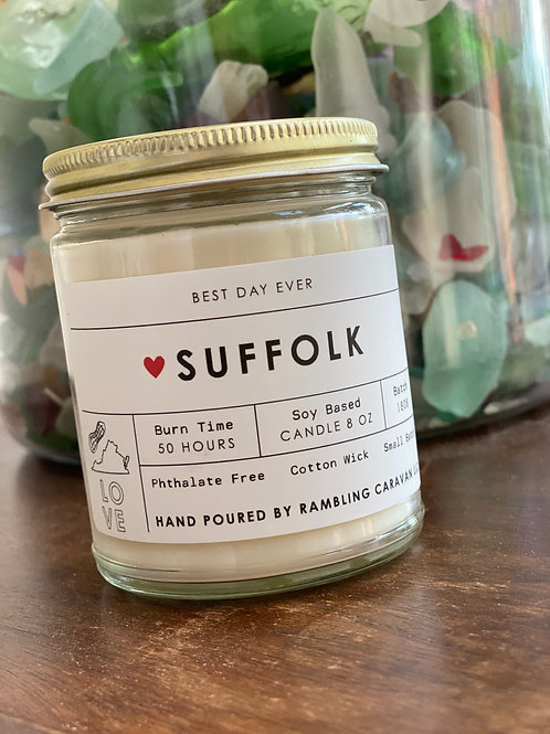 Suffolk, Virginia Candle