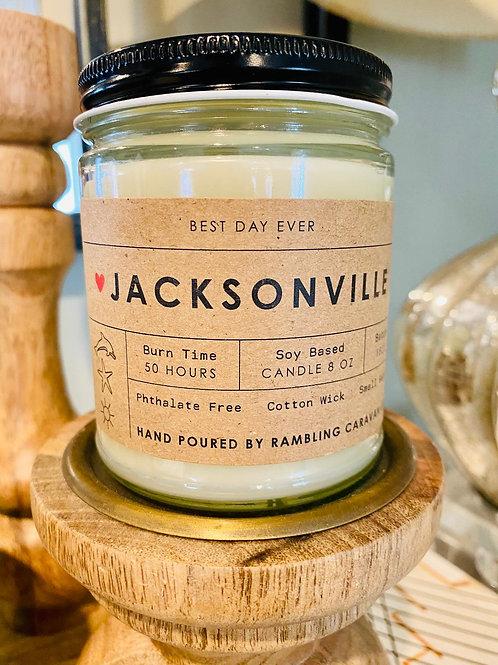Jacksonville, Florida Candle