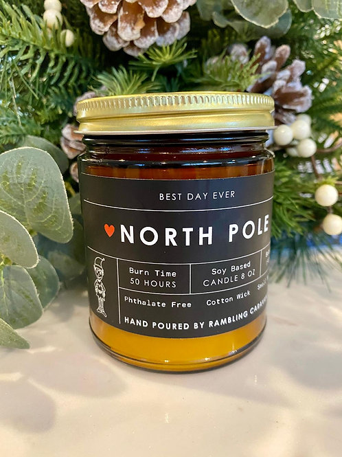 North Pole Candle