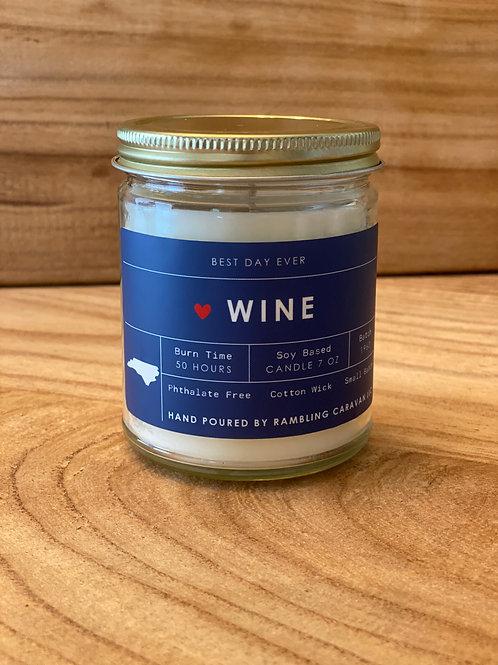Wine (North Carolina) Candle