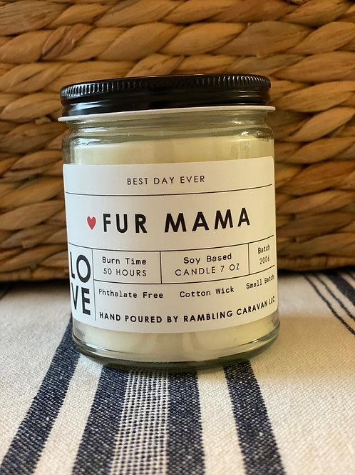 Fur Mama Candle