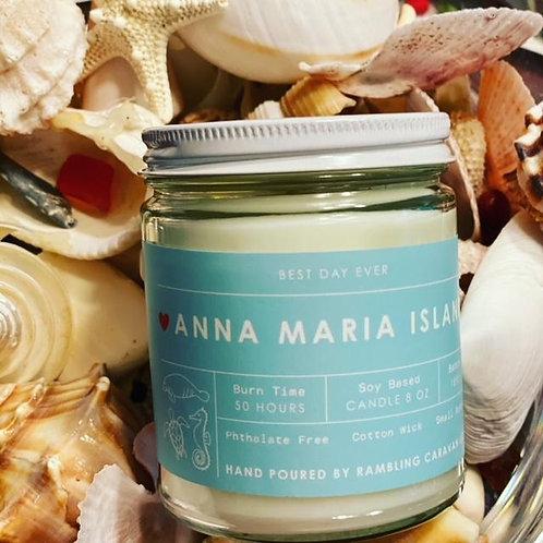 Anna Maria Island, Florida Candle