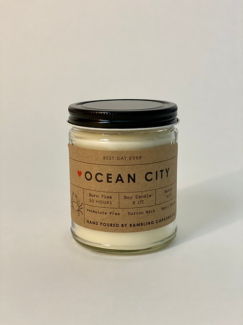 Ocean City, Maryland Candle