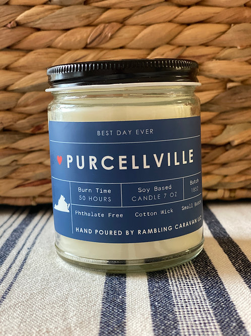 Purcellville, Virginia Candle