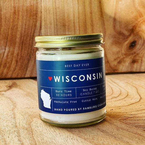 Wisconsin Candle
