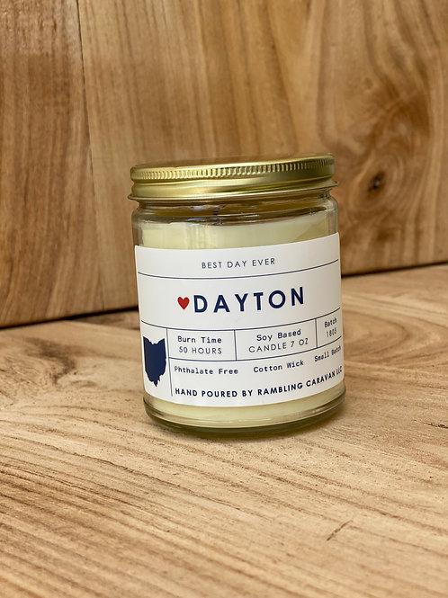 Dayton, Ohio Candle