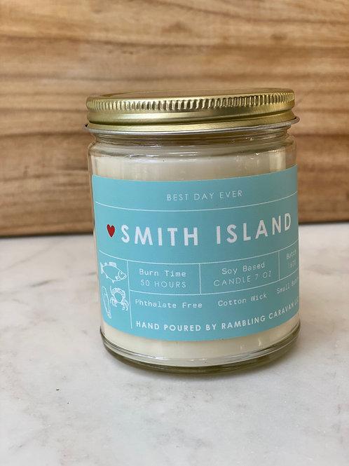 Smith Island, Maryland Candle