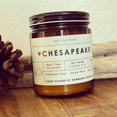Chesapeake, VA Candle