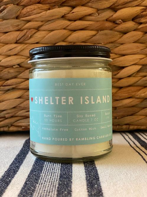 Shelter Island, New York Candle