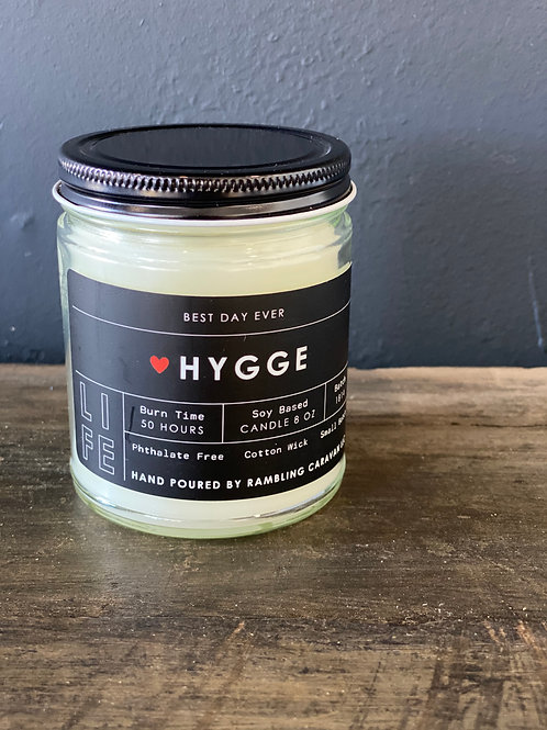 Hygge (Danish for comfort) Candle