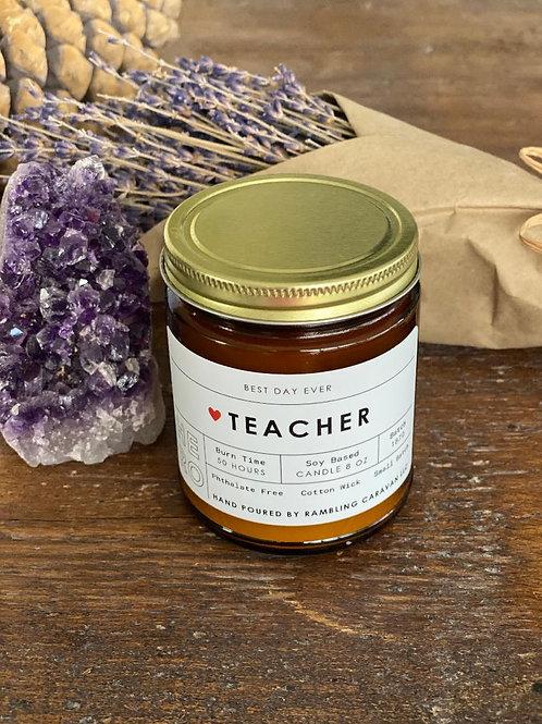 Teacher (Hero) Candle