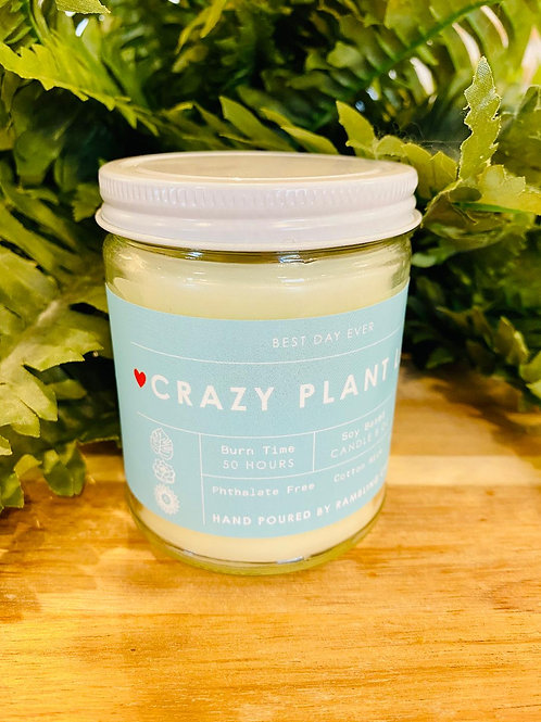Crazy Plant Lady Candle