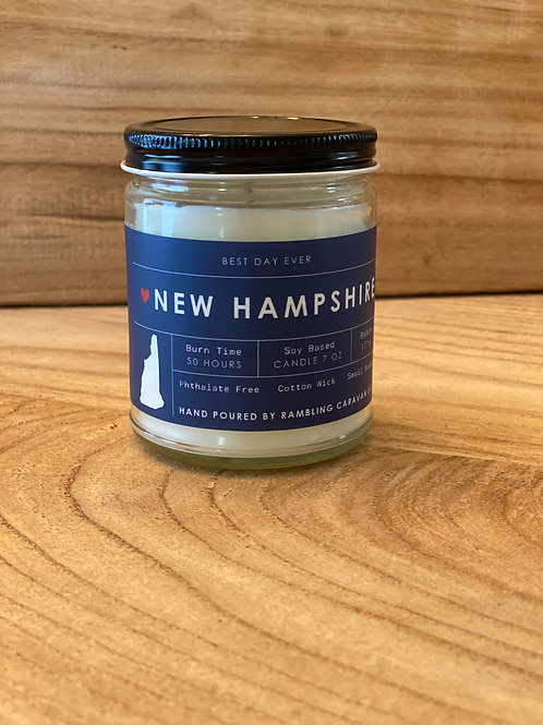 New Hampshire Candle