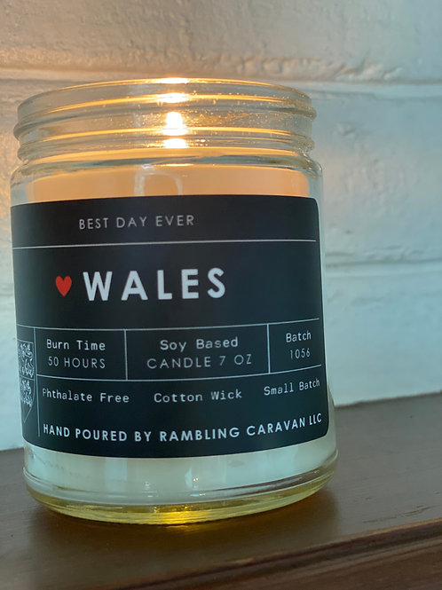 Wales Candle