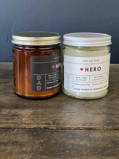 Hero (Dad) Candle