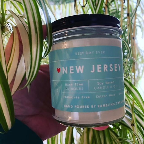 New Jersey Candle