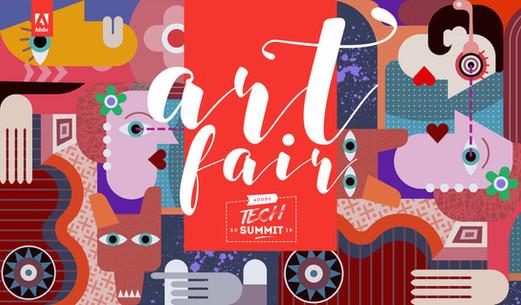 Artfair 2019- Tech Summit, Adobe Inc.