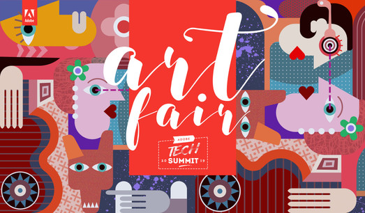 Artfair 2019- Tech Summit, Adobe Inc.