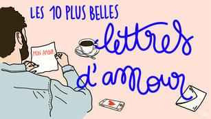 les plus belles lettres amour litteratur