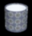 Echinacea Mulberry lampshade