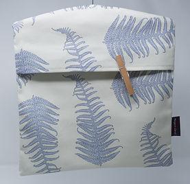 Fern Leaves Cream Peg Bag.jpg