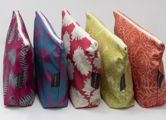 5 New Designs for Makeup & Wash Bags