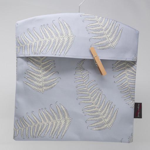 Fern Leaves Powder Peg Bag