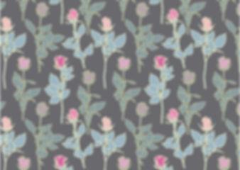 Rose Stems Grey greeting card