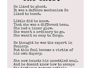 The Ghost by Zaara