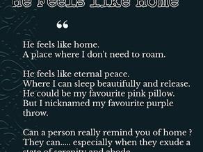 He feels like Home by Zaara