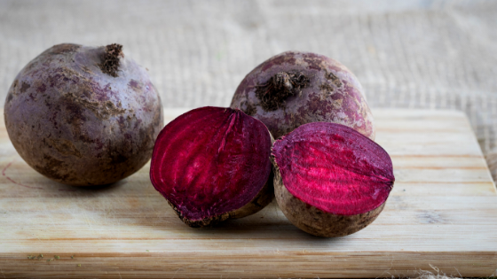 Beets are delicious and nutritious