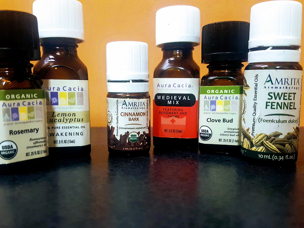 Essential oils can help lessen the uncomfortable symptoms