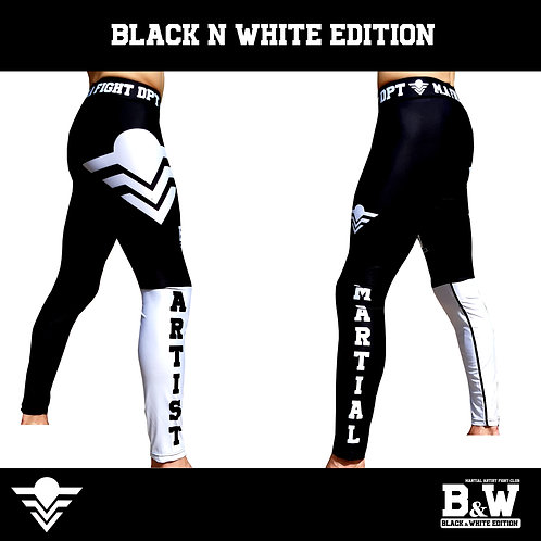 "Pants (Compression) ""Black & White"" Edition"
