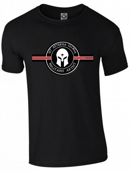 Tee Shirt MILITARIS ARTIST black