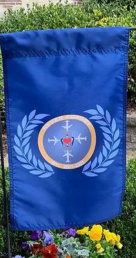Clipped Wings Garden Flag.jpg