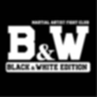black white martial artist fightwear fra