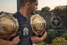 Martial artist fightwear & sportswear