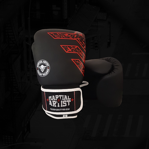 """Boxing Gloves """"Strike with Martial Artist"""""""