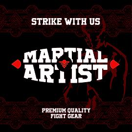 martial artist équipement de boxe mma