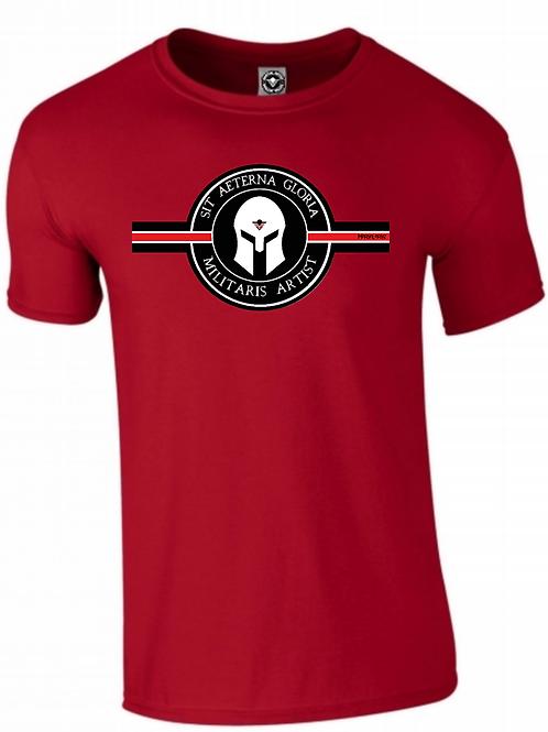 Tee Shirt MILITARIS ARTIST Red