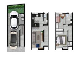 Casas 4 e 5 - 105m2