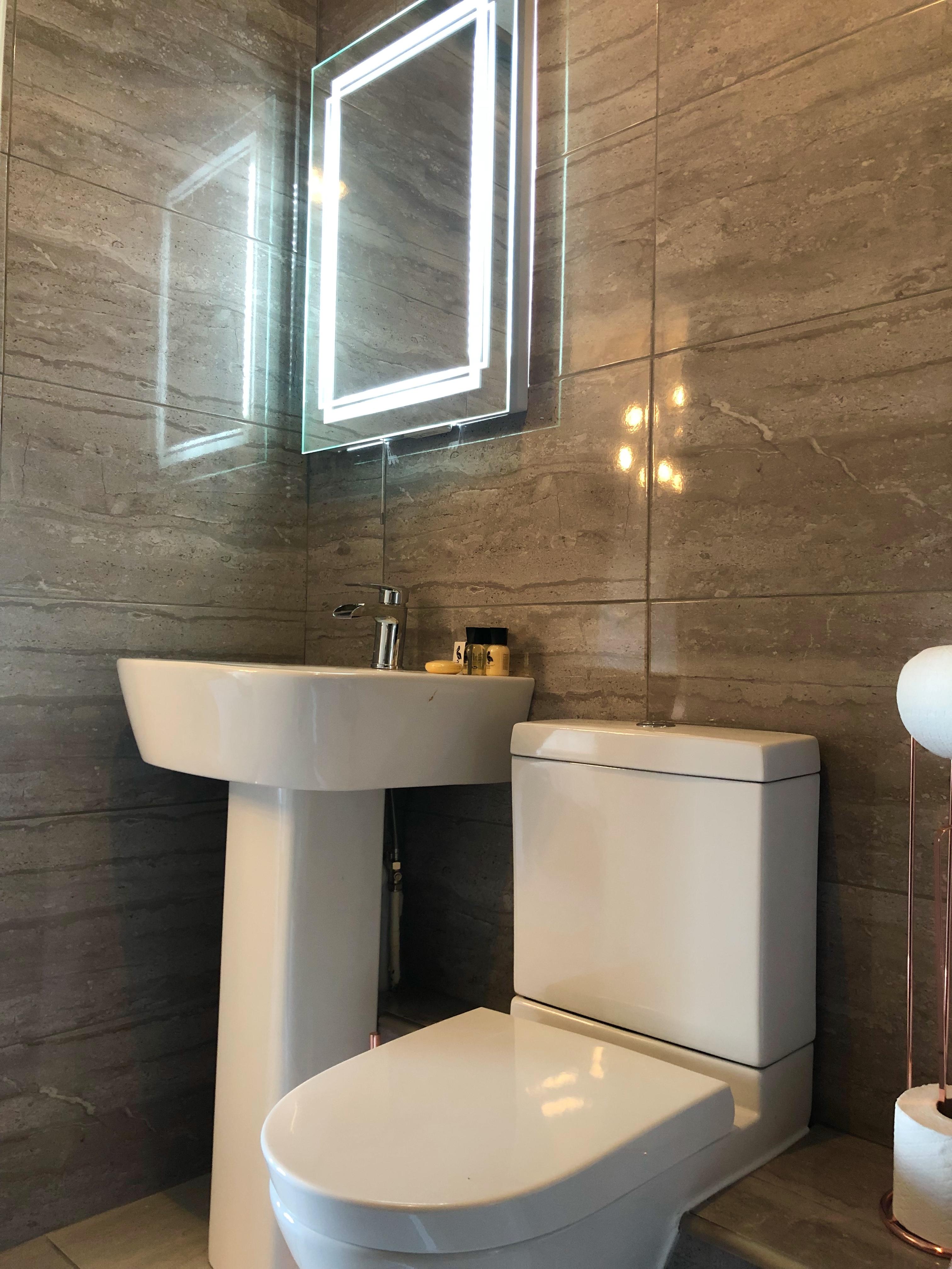 Room One Bathroom one