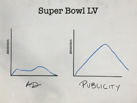 Best Super Bowl ad this year? Publicity