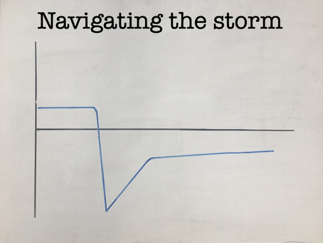 Navigating the storm
