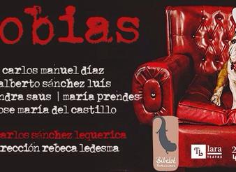 """Fobias"" reestreno en Teatros Luchana"