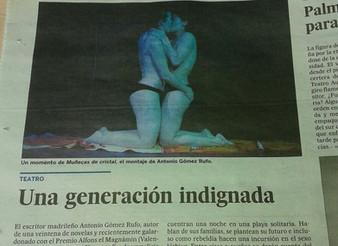 """""""Muñecas de cristal"""" en El País"""