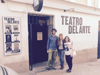 DEMENCIA ensaya en el Teatro del Arte