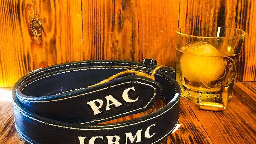 Royal Blue ICRMC Belt