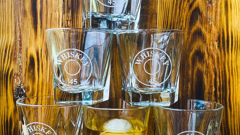 Whiskey 45 Whiskey Glass